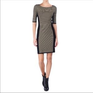 Rag & Bone Ella Dress Black/Tan Size Small